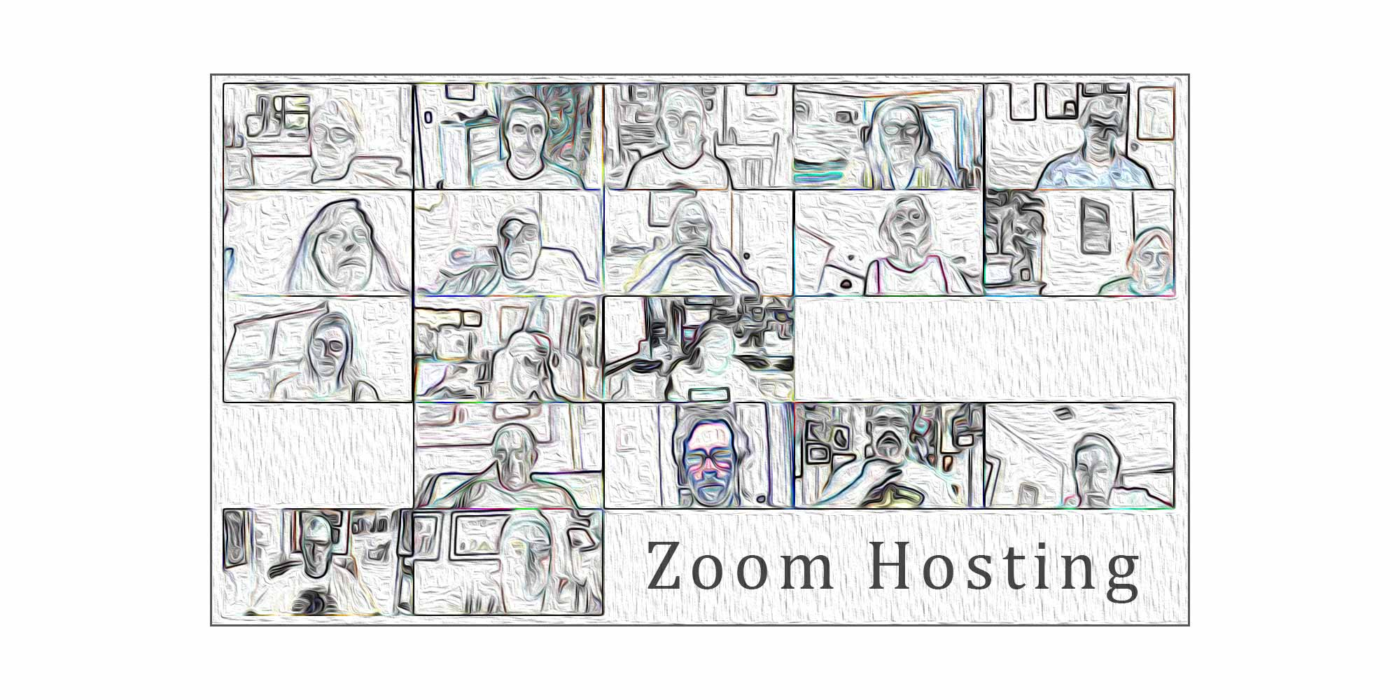 Zoom Hosting Graphic